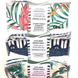 Henrys Eco Living little green unpaper towel