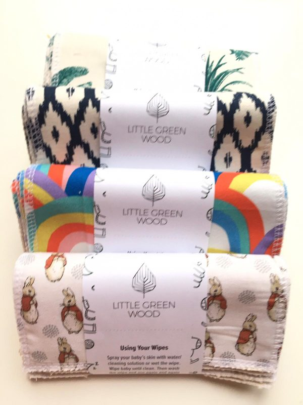 Henrys Eco Living little green baby wipes