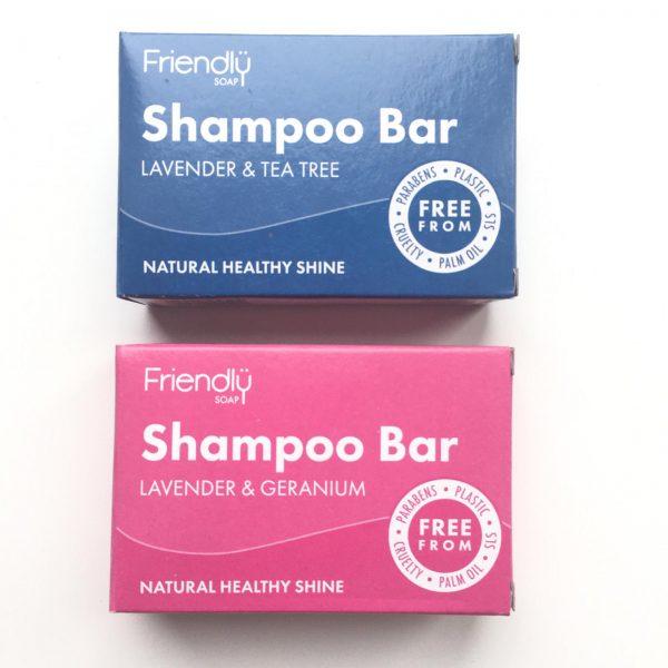 Henrys Eco Living shampoo both