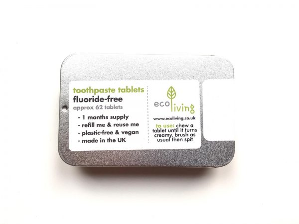Henrys Eco Living toothpaste tabs